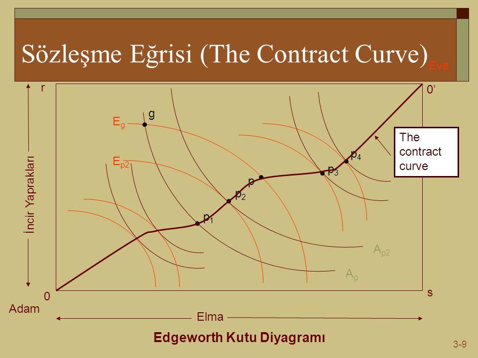 Sözleşme Eğrisi (The Contract Curve)