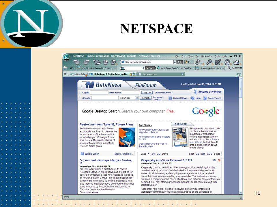 NETSPACE