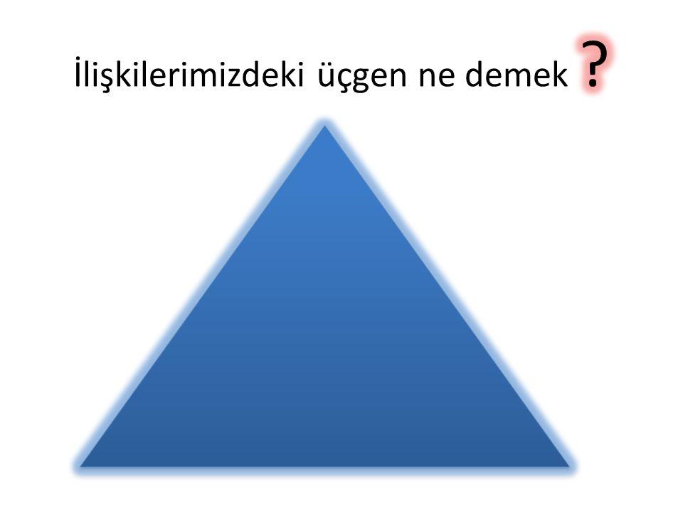 İlişkilerimizdeki üçgen ne demek