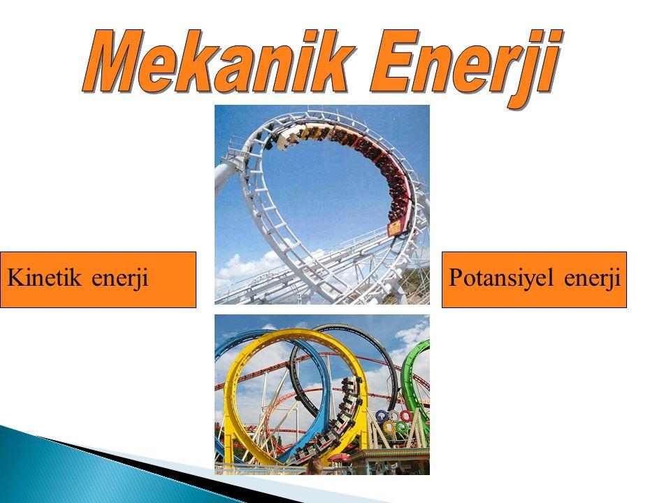 Mekanik Enerji Kinetik enerji Potansiyel enerji