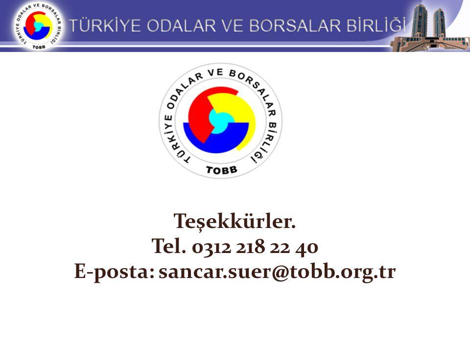 E-posta: sancar.suer@tobb.org.tr