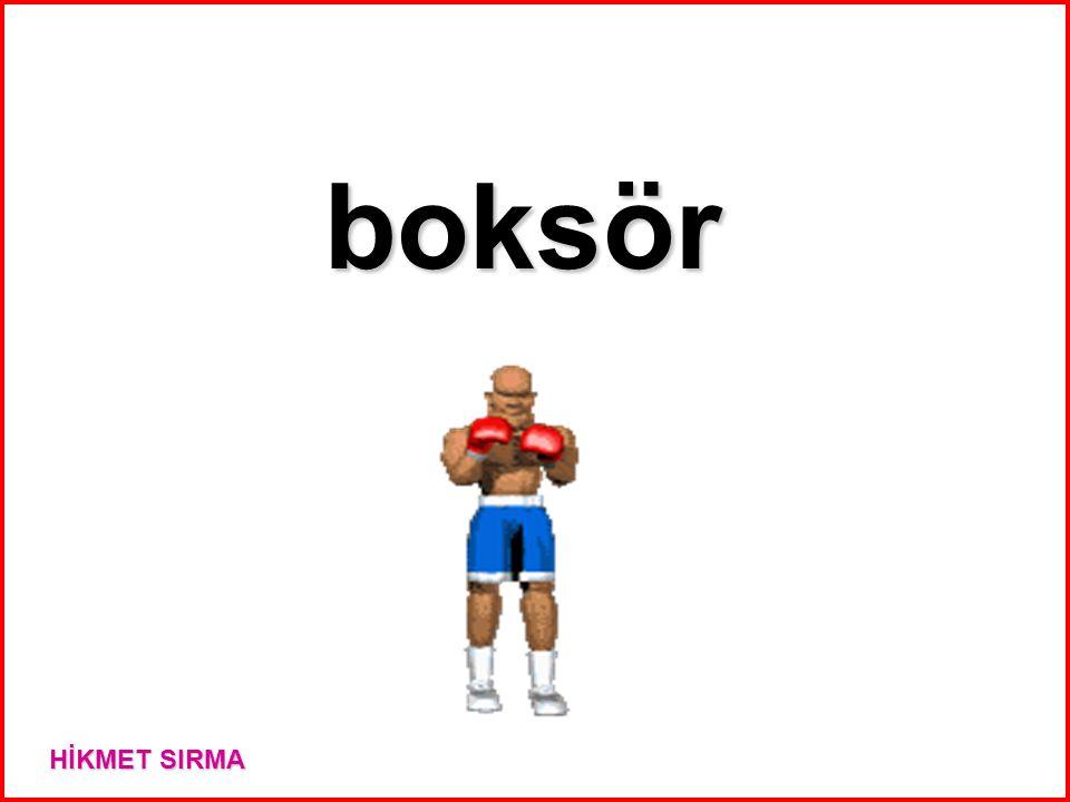 boksör HİKMET SIRMA