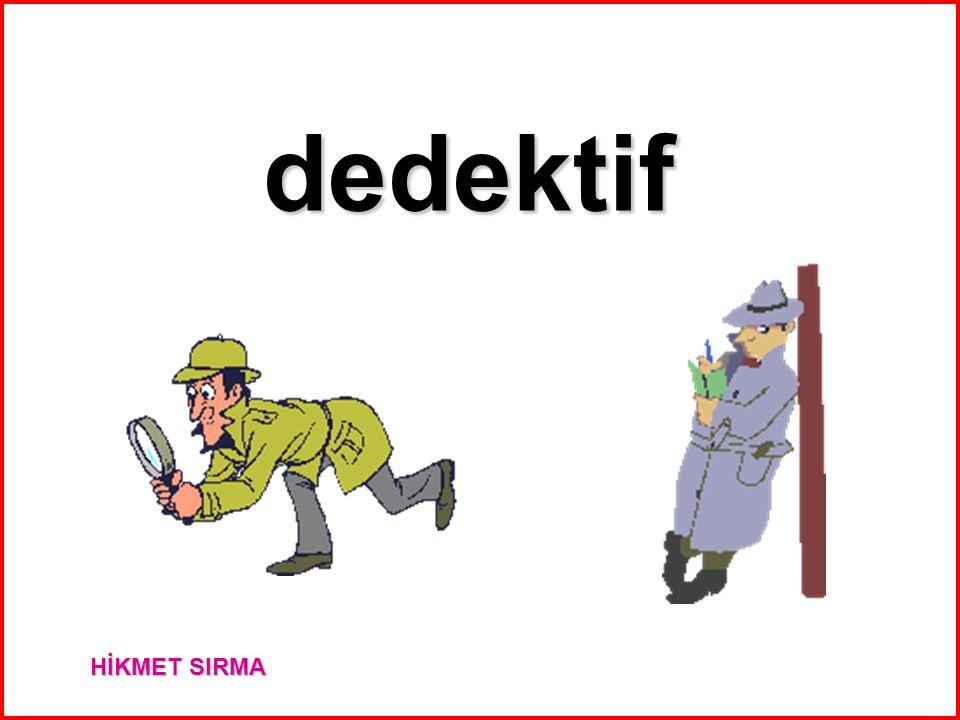 dedektif HİKMET SIRMA