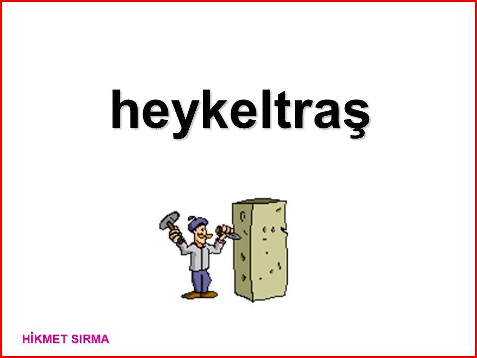 heykeltraş HİKMET SIRMA