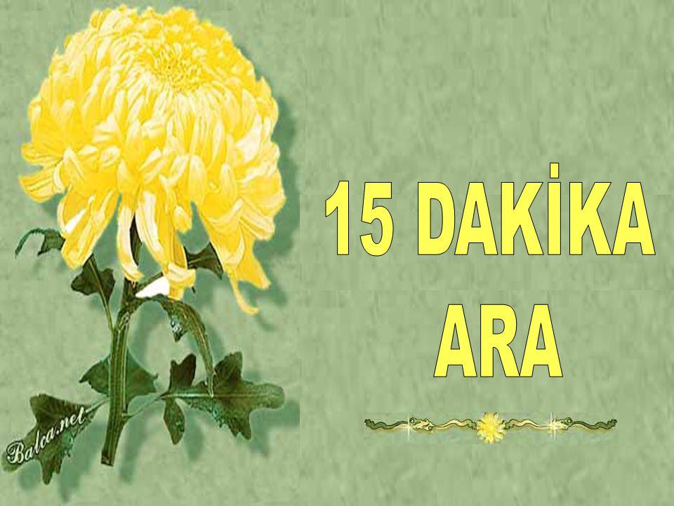 15 DAKİKA ARA
