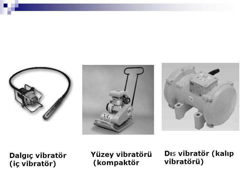 Dalgıç vibratör (iç vibratör)