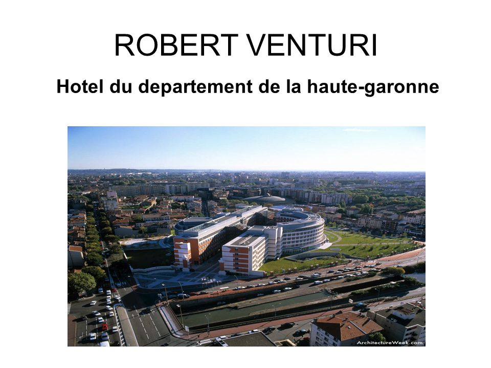 Hotel du departement de la haute-garonne