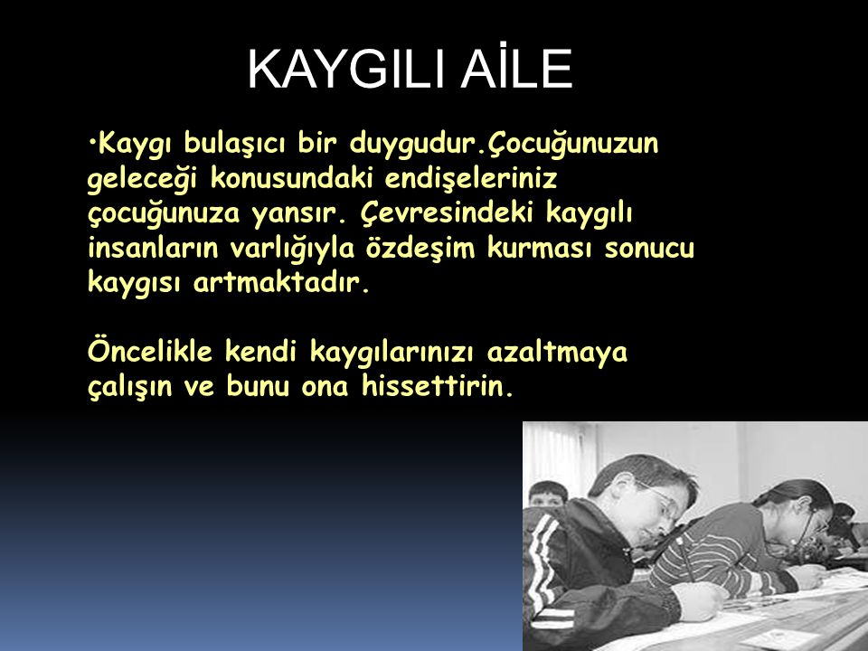 KAYGILI AİLE