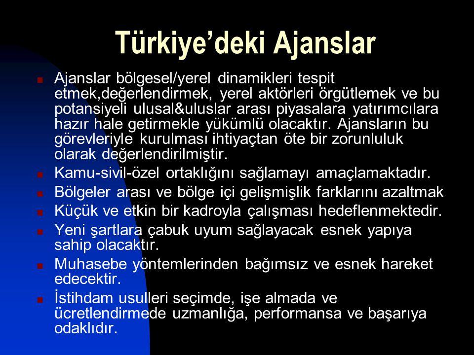 Türkiye'deki Ajanslar