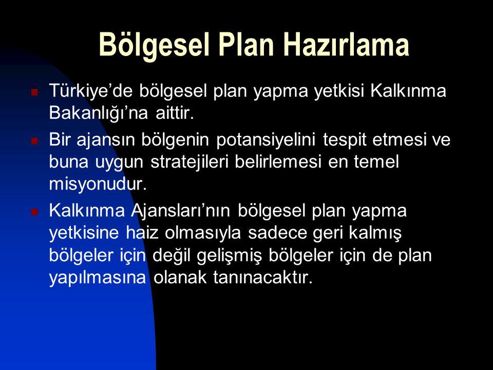 Bölgesel Plan Hazırlama