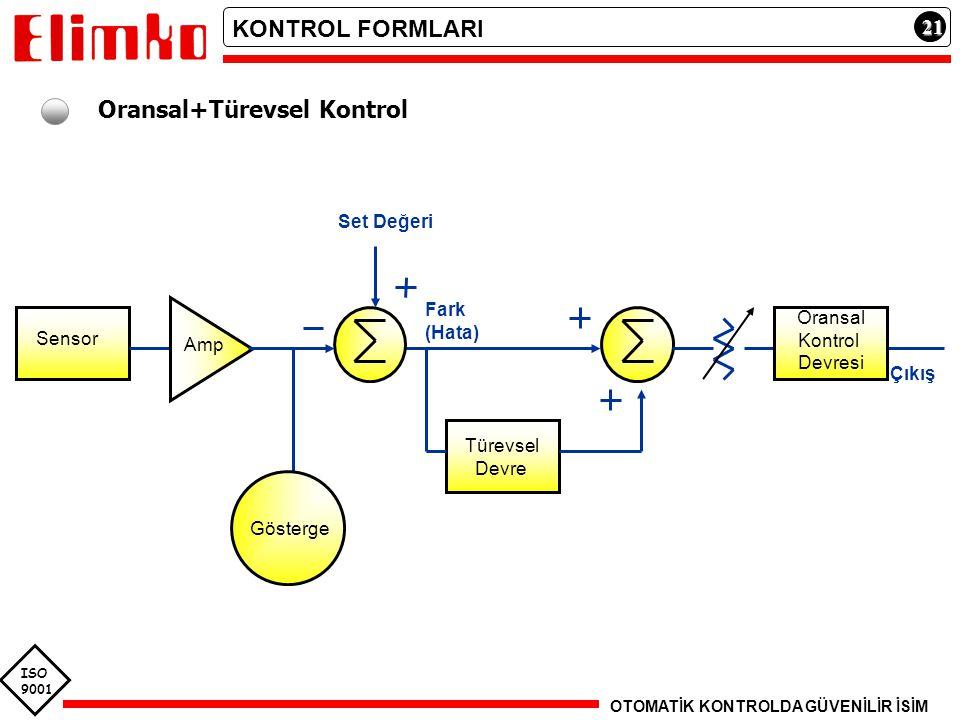 Oransal+Türevsel Kontrol