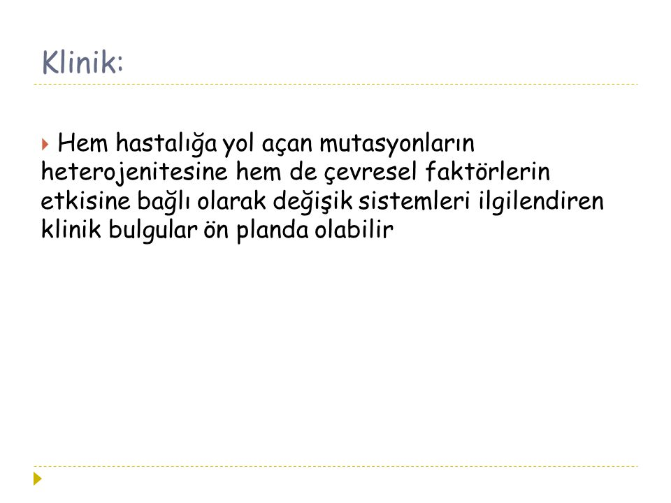 Klinik: