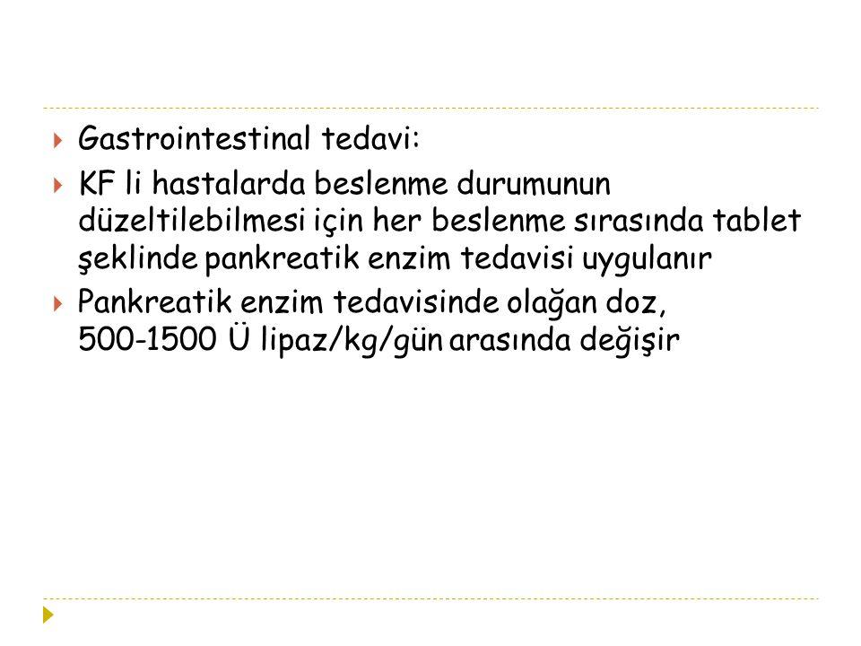 Gastrointestinal tedavi: