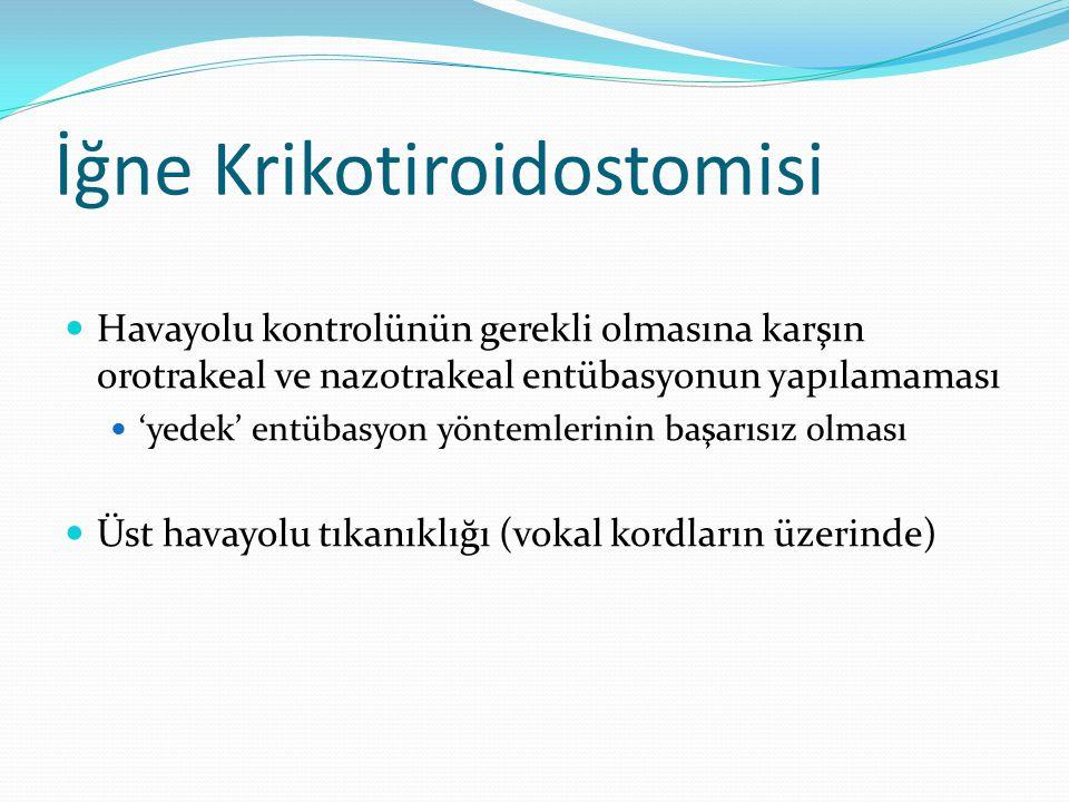 İğne Krikotiroidostomisi
