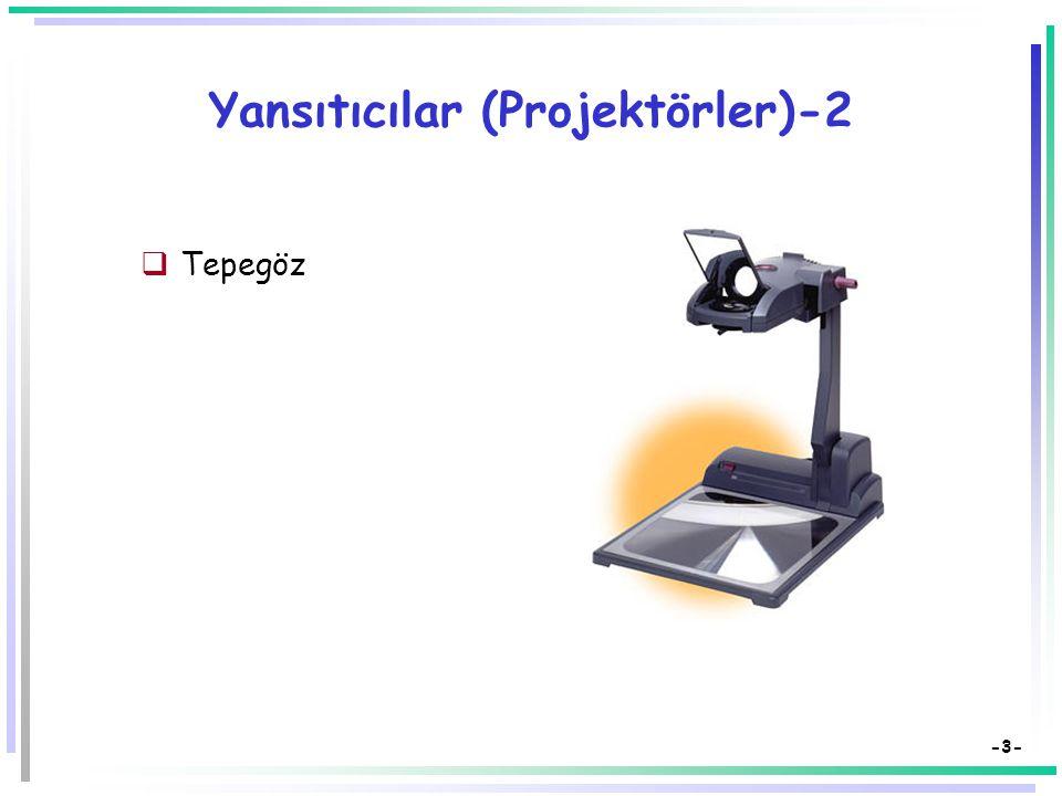 Yansıtıcılar (Projektörler)-2