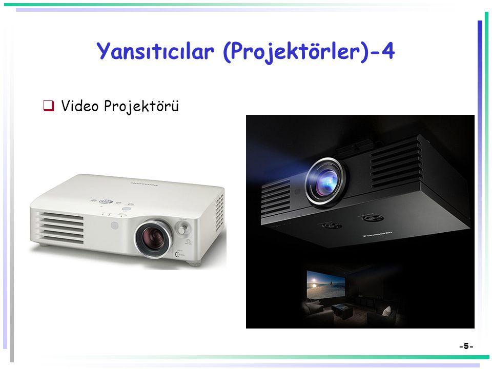 Yansıtıcılar (Projektörler)-4