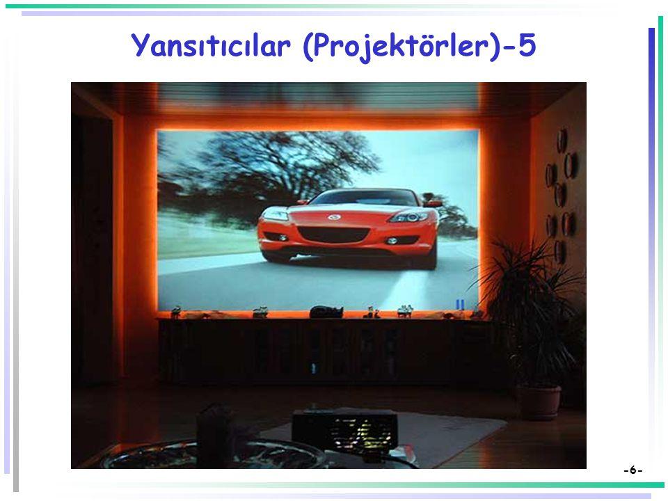 Yansıtıcılar (Projektörler)-5