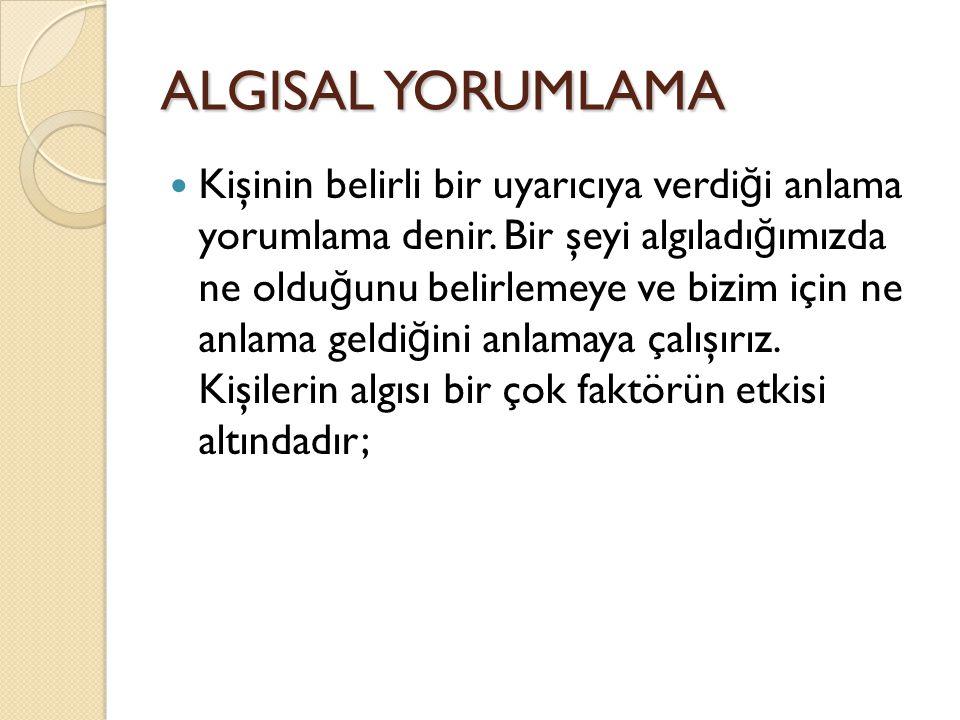 ALGISAL YORUMLAMA