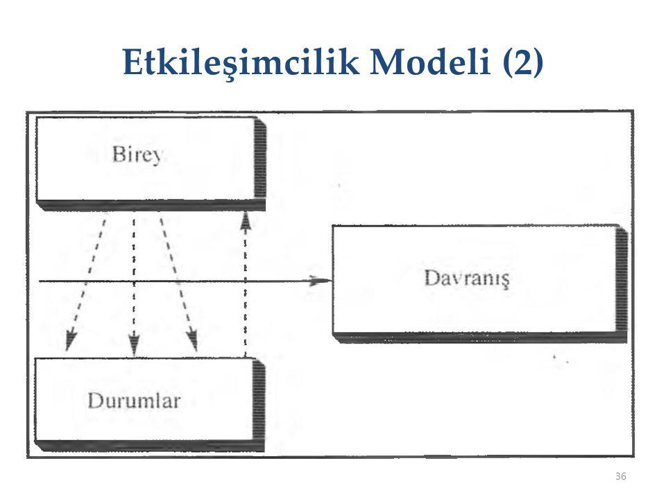 Etkileşimcilik Modeli (2)