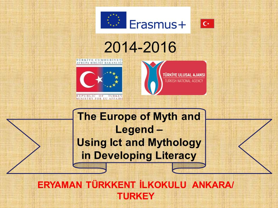 2014-2016 The Europe of Myth and Legend –