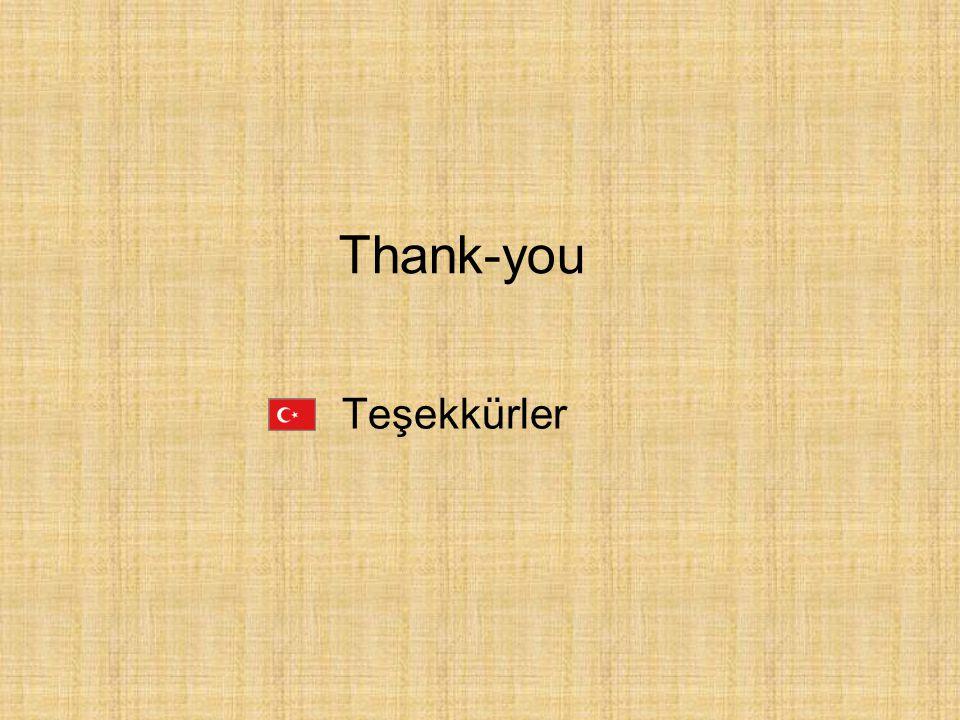 Thank-you Teşekkürler