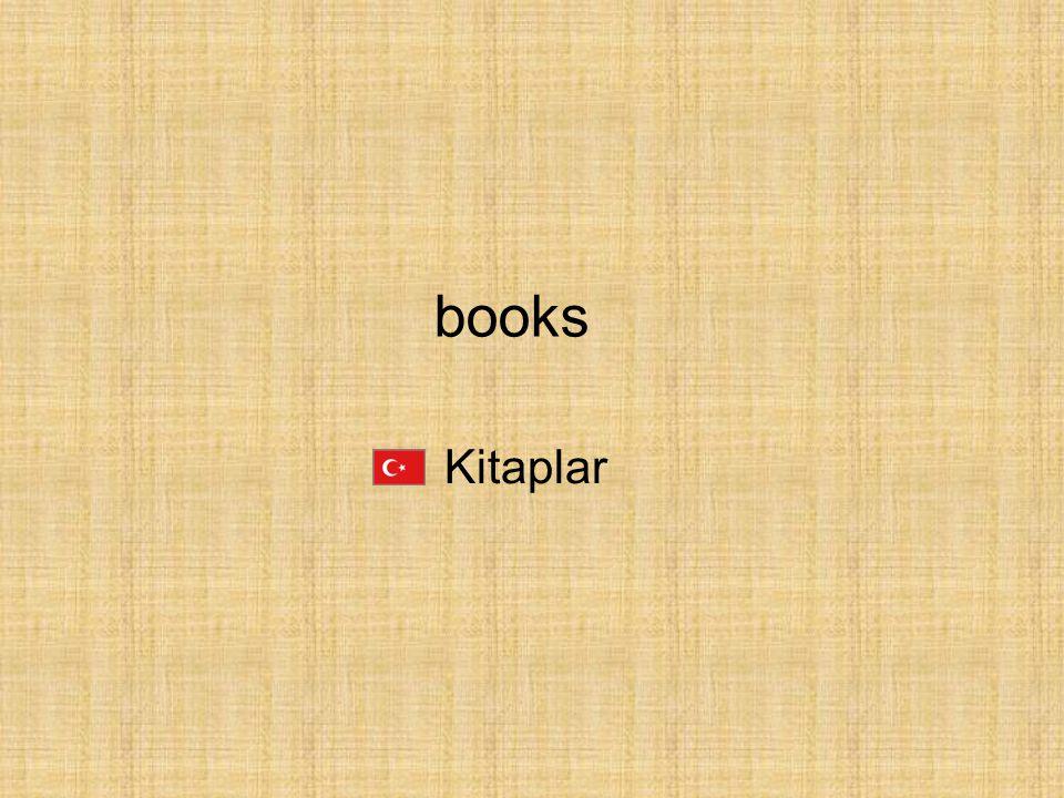 books Kitaplar