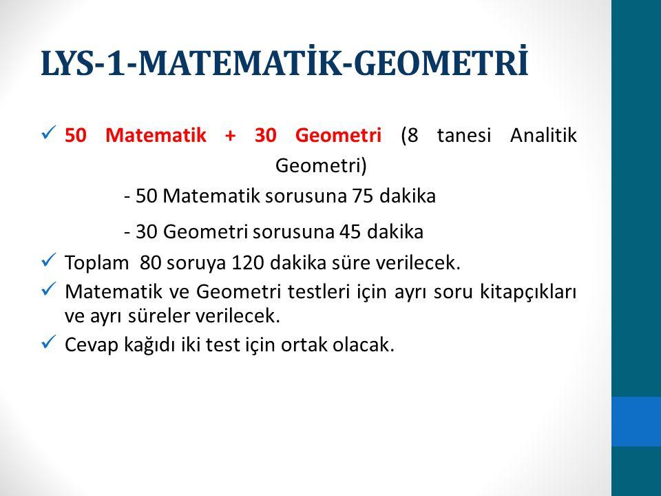 LYS-1-MATEMATİK-GEOMETRİ