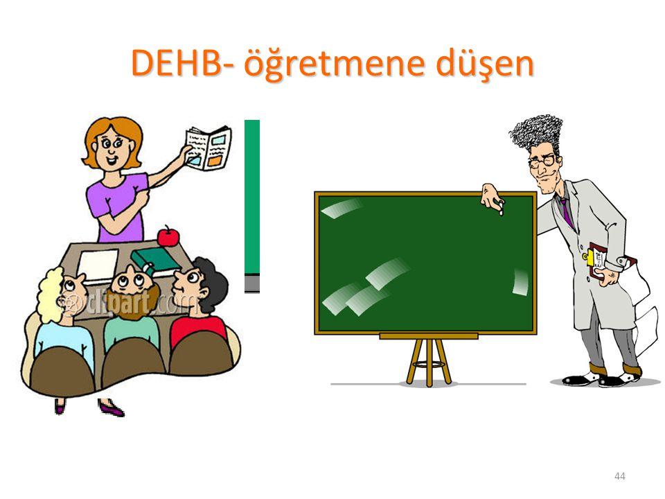 DEHB- öğretmene düşen