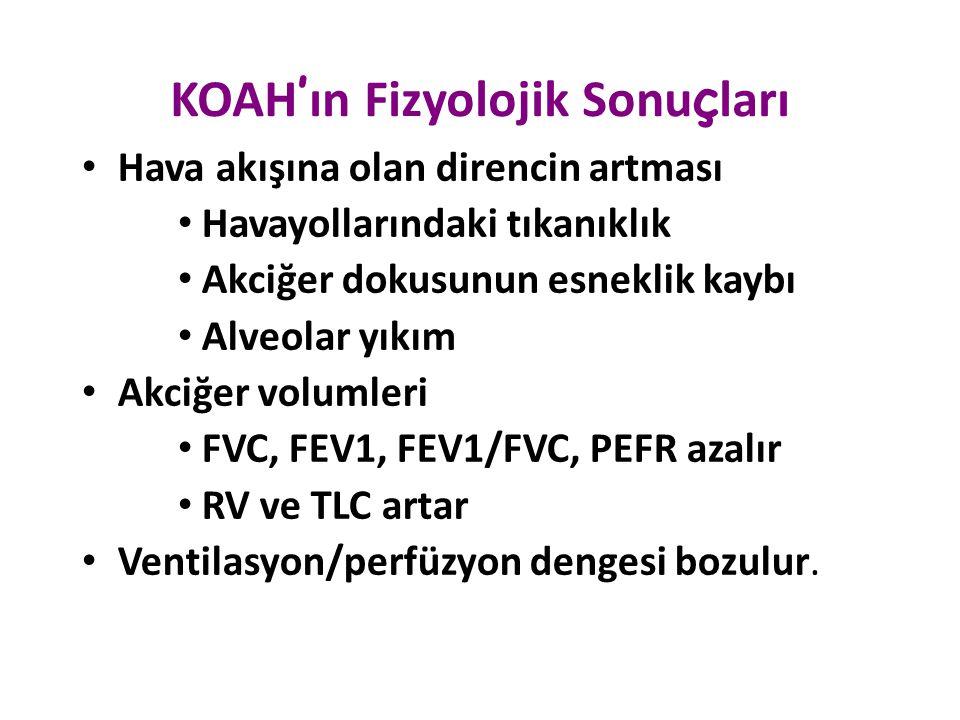 KOAH'ın Fizyolojik Sonuçları