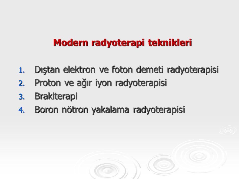 Modern radyoterapi teknikleri
