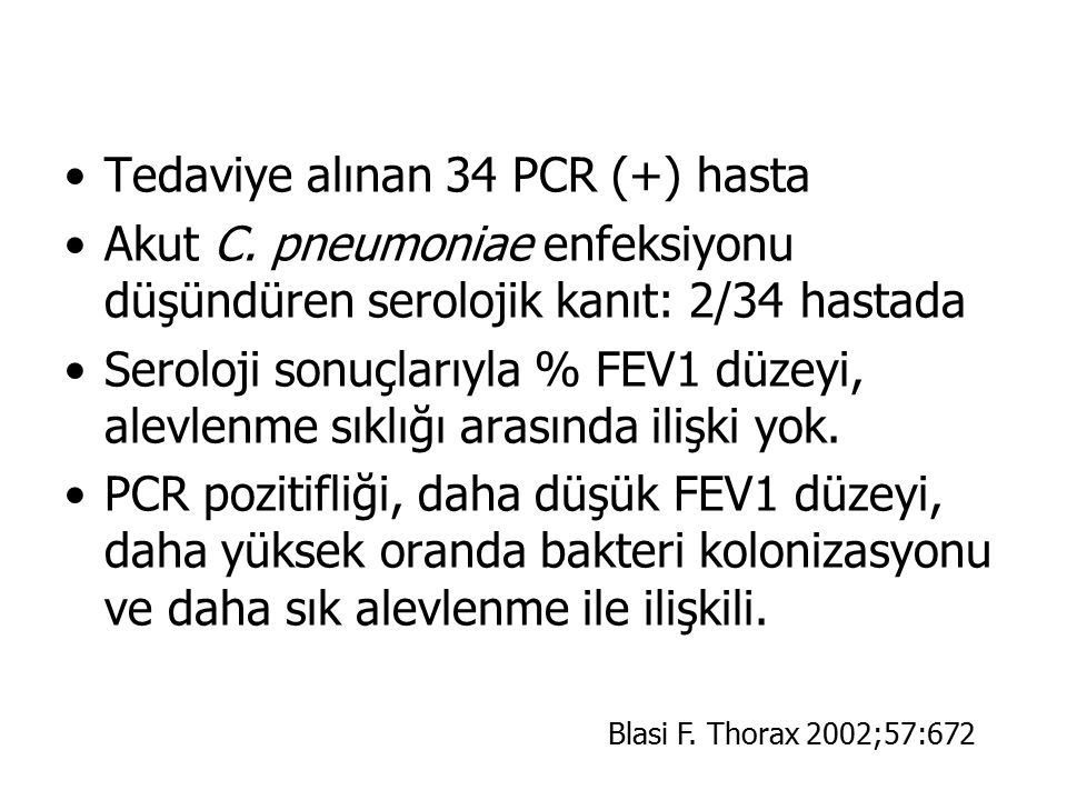 Tedaviye alınan 34 PCR (+) hasta