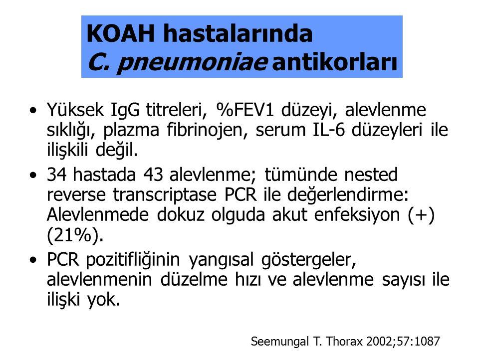 C. pneumoniae antikorları