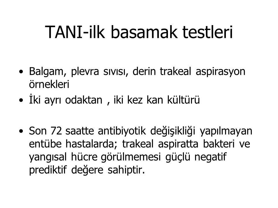 TANI-ilk basamak testleri