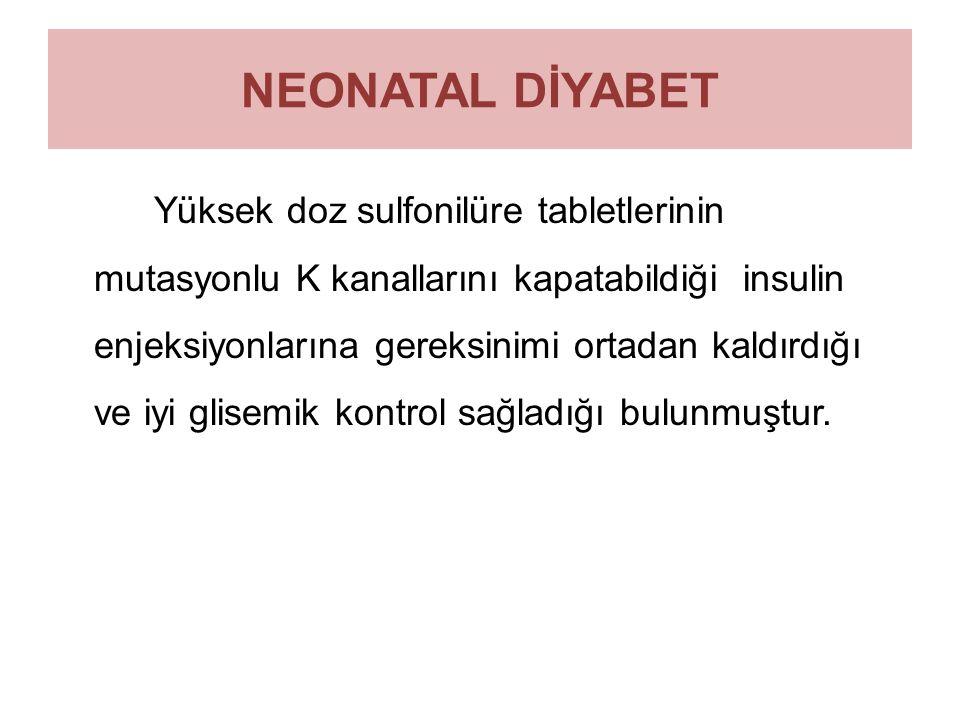 NEONATAL DİYABET