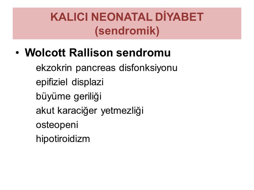 KALICI NEONATAL DİYABET (sendromik)