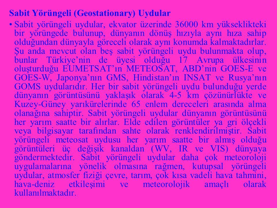 Sabit Yörüngeli (Geostationary) Uydular