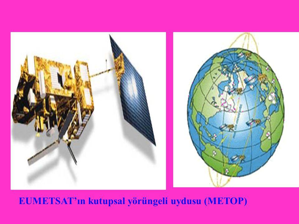 EUMETSAT'ın kutupsal yörüngeli uydusu (METOP)