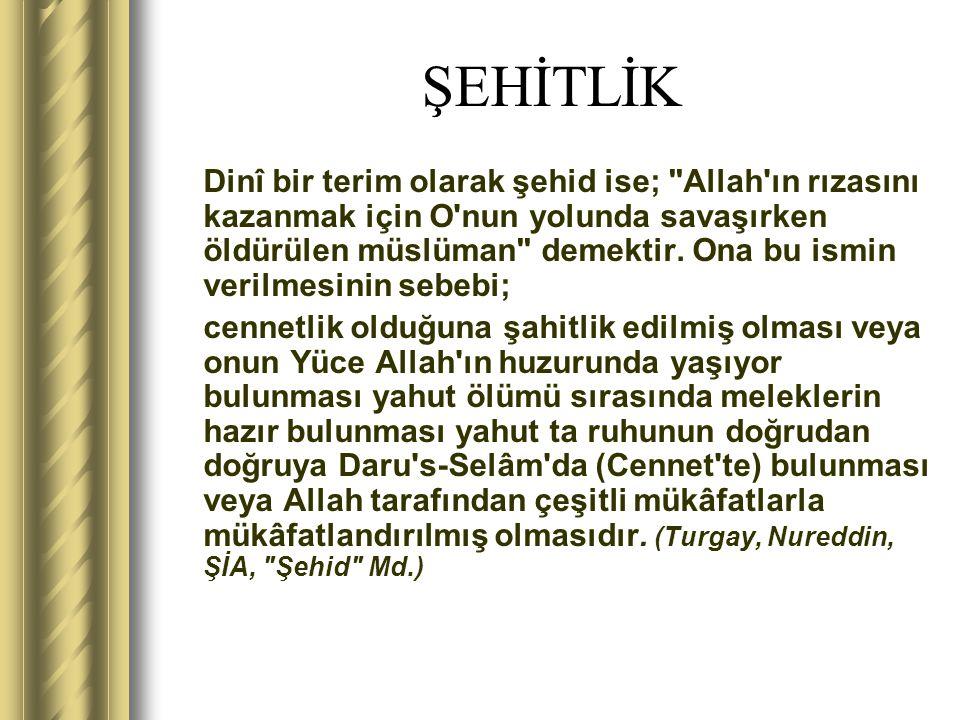 ŞEHİTLİK