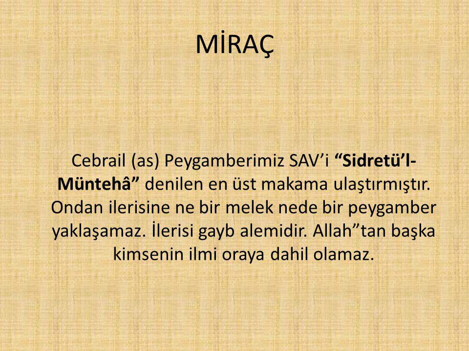 MİRAÇ