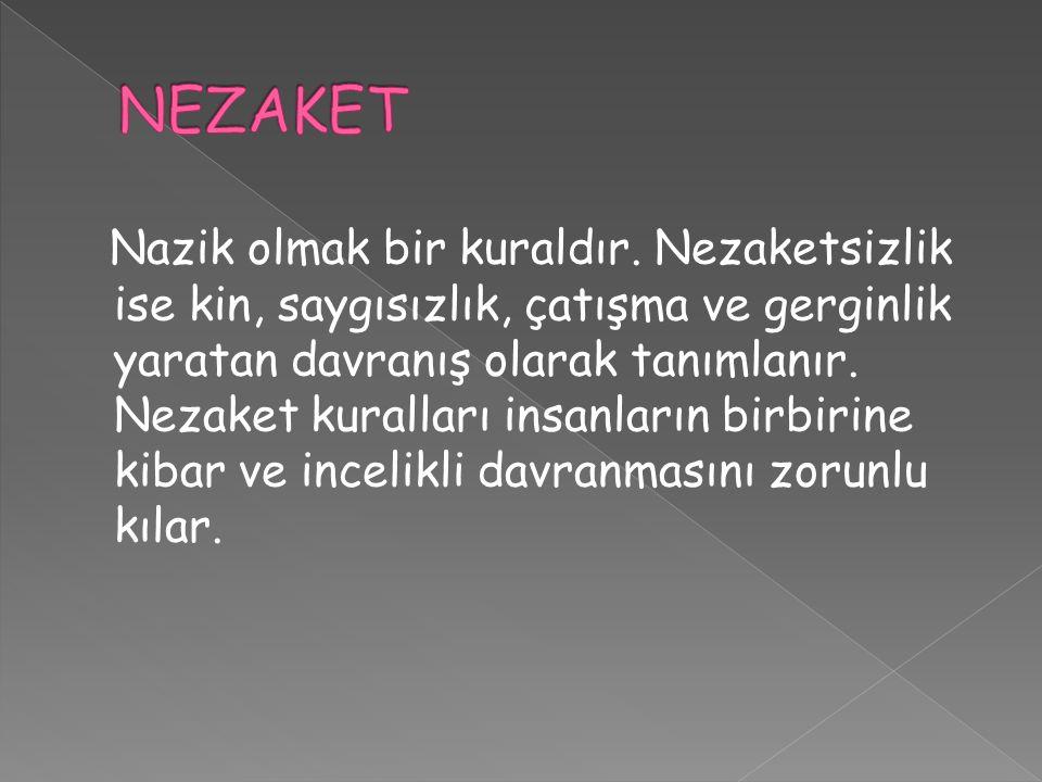 NEZAKET