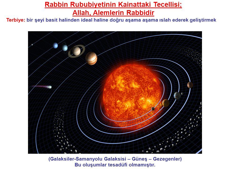 Rabbin Rububiyetinin Kainattaki Tecellisi; Allah, Alemlerin Rabbidir