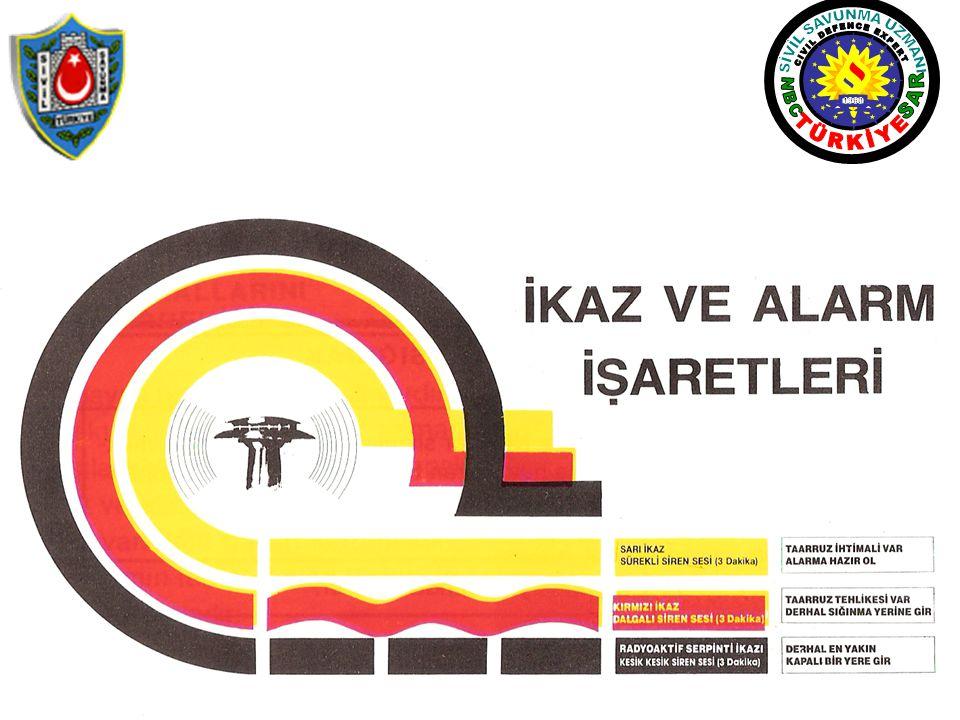 SİVİL SAVUNMA UZMANI CIVIL DEFENCE EXPERT TÜRKİYE N B C S A R 1960