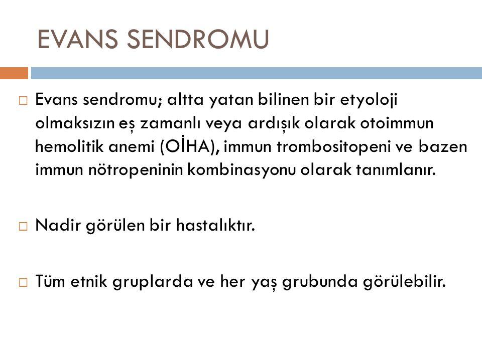 EVANS SENDROMU