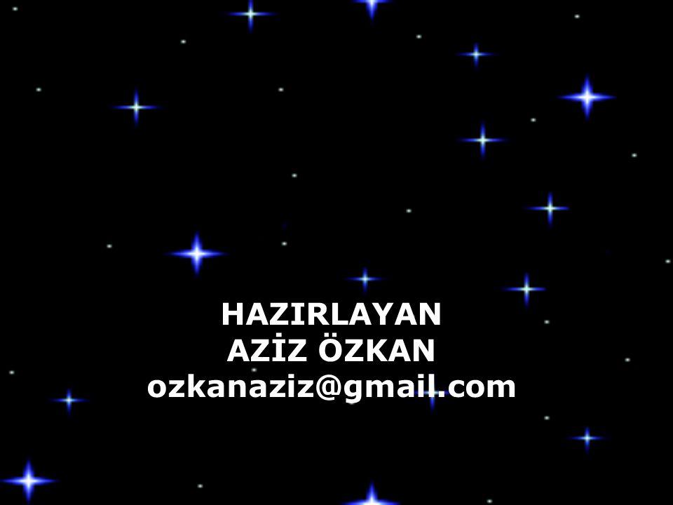 AZİZ ÖZKAN ozkanaziz@gmail.com