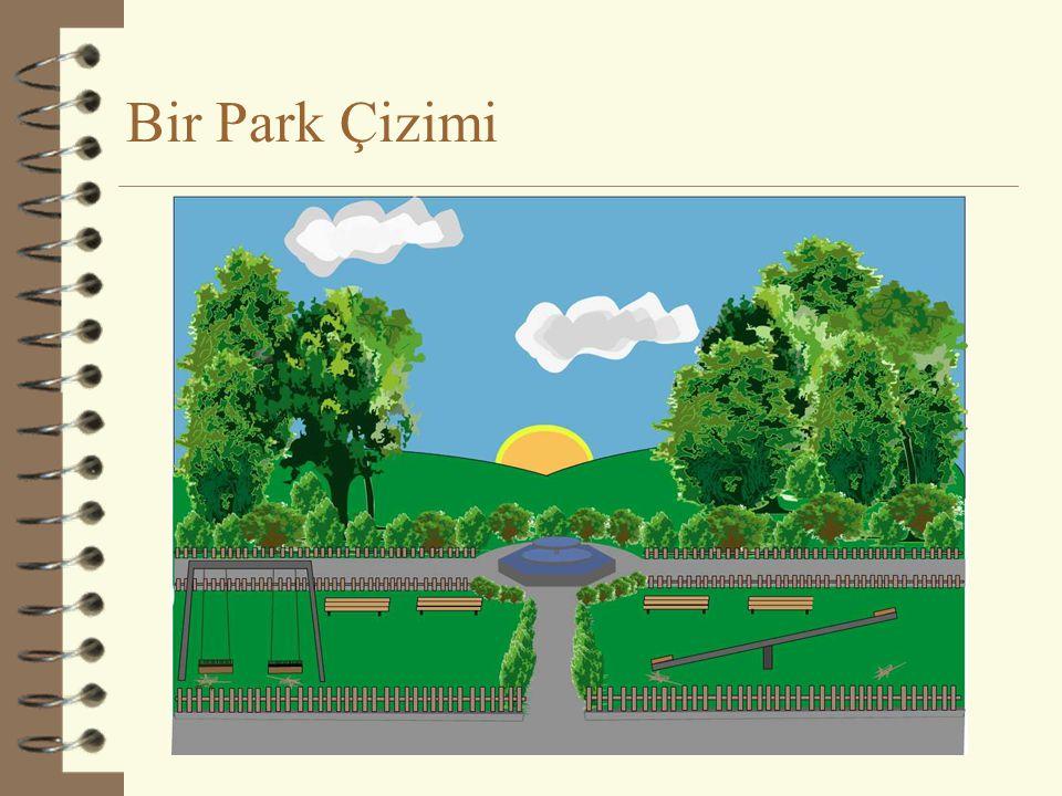 Bir Park Çizimi