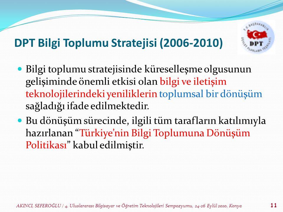DPT Bilgi Toplumu Stratejisi (2006-2010)