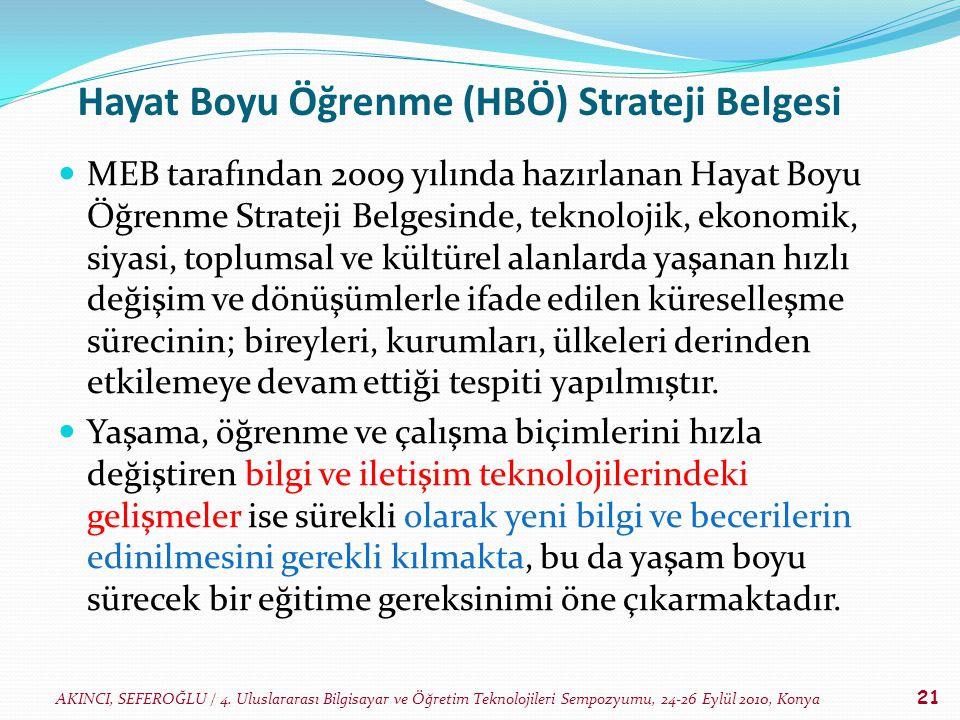 Hayat Boyu Öğrenme (HBÖ) Strateji Belgesi