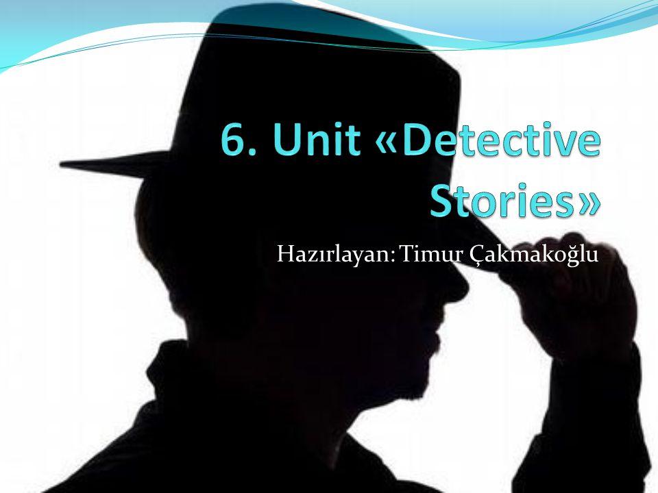 6. Unit «Detective Stories»