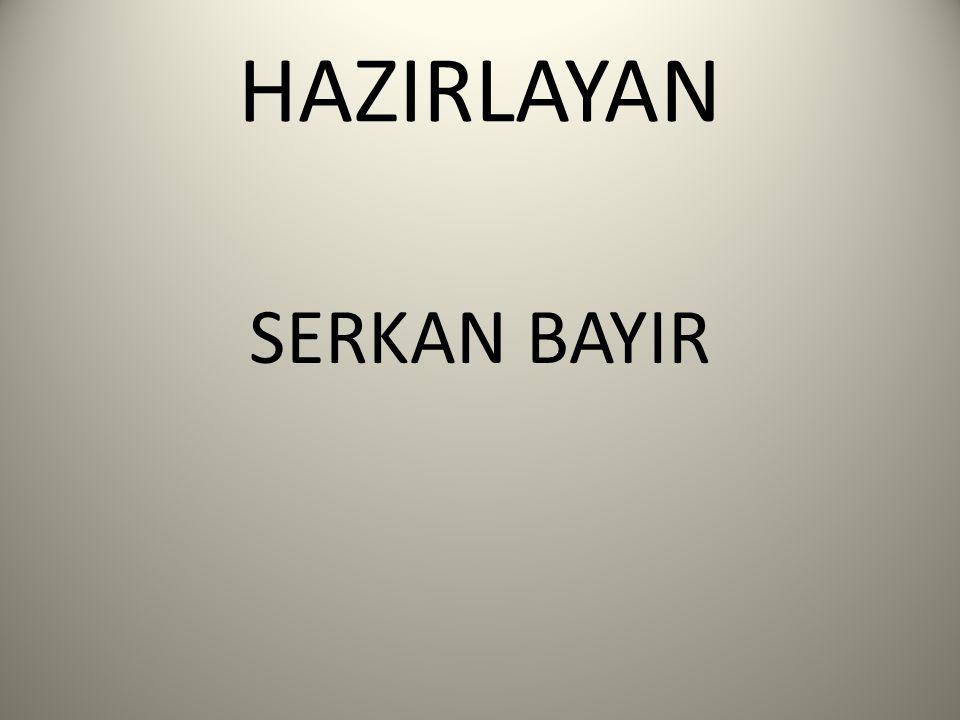 HAZIRLAYAN SERKAN BAYIR
