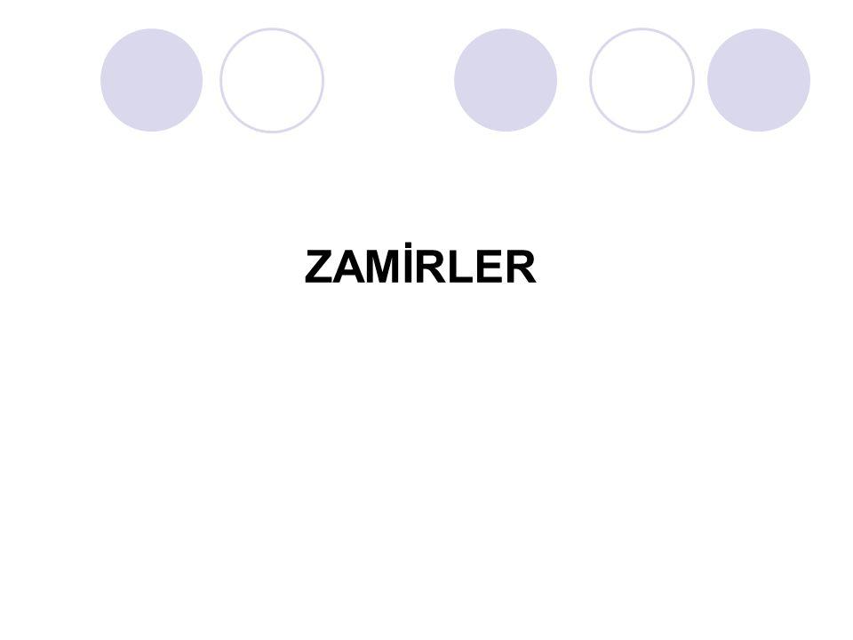 ZAMİRLER